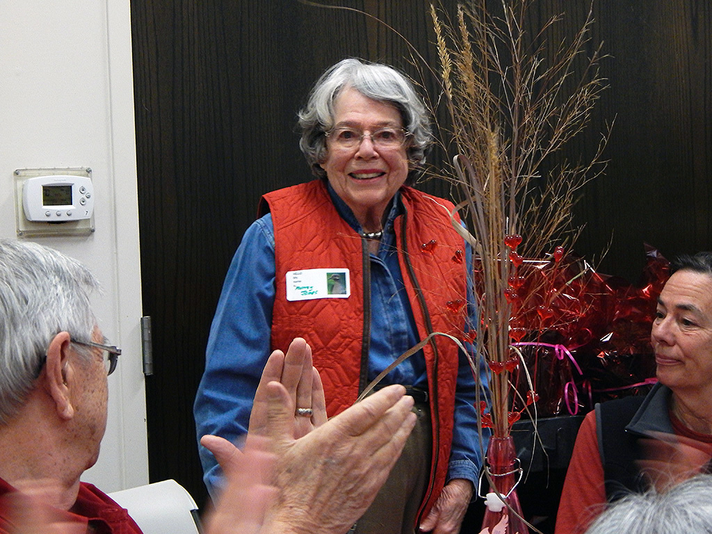 Murray James at a Hands and Hearts volunteer appreciation event at the Fort Worth Nature Center