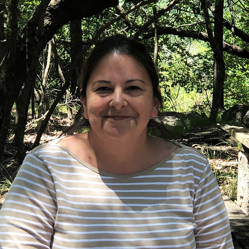 Portrait of Jessica Carrillo, the new customer service supervisor at the Fort Worth Nature Center